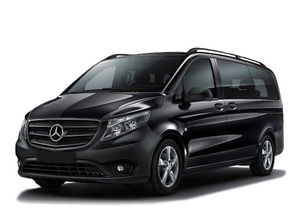 Transfer from Les Menuires to Grenoble Airport by Mercedes V-class. Get by taxi with english-speaking driver.