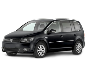 Transfer from Aeroporto Malpensa to Sestriere by Volkswagen Touran