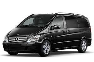 Transfer from Aeroporto Malpensa to Sestriere by Mercedes Viano. Get by taxi with english-speaking driver.