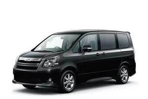 Transfer from Airport Bali to Sanur by Toyota Voxy