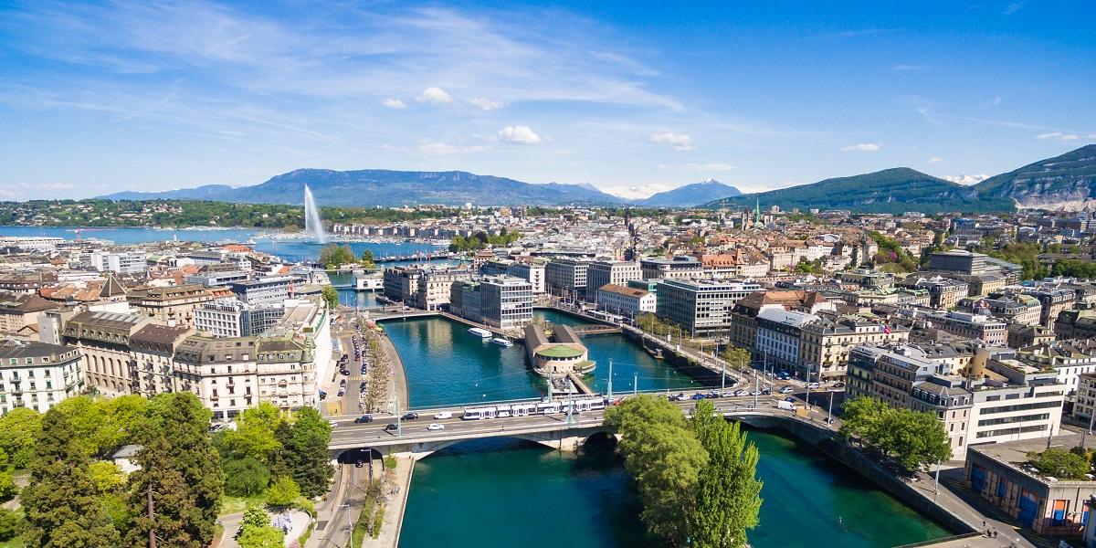 Трансфер аэропорт Женевы - центр Женевы (Transfer from Geneva to Geneva)