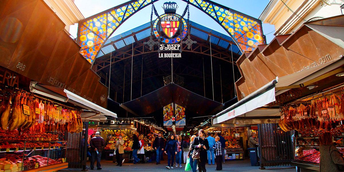 Индивидуальная пешая экскурсия на Рынок Бокерия в Барселоне