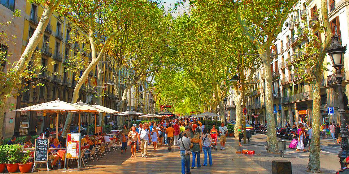 Гастрономический тур - рестораны на улице Рамбла в Барселоне