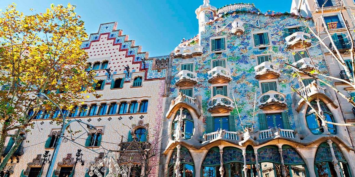 Обзорная экскурсия по Барселоне - Гауди, Дом Бальо