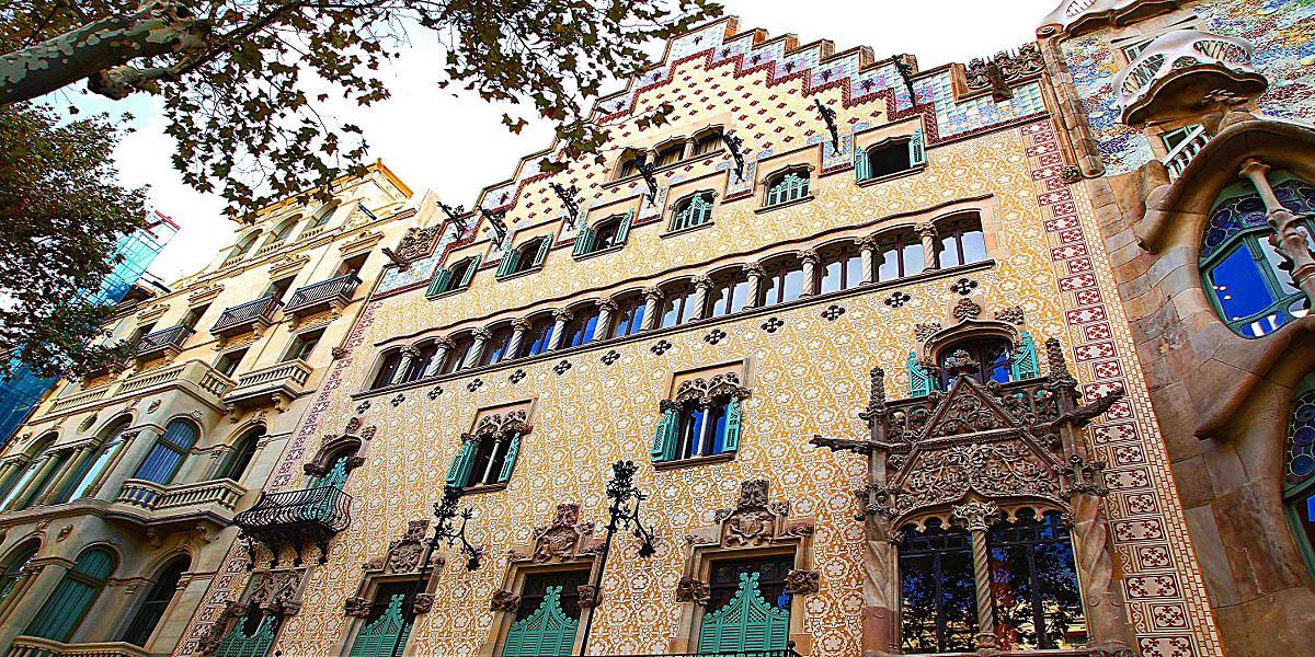 Обзорная экскурсия по Барселоне - Дом Амалье