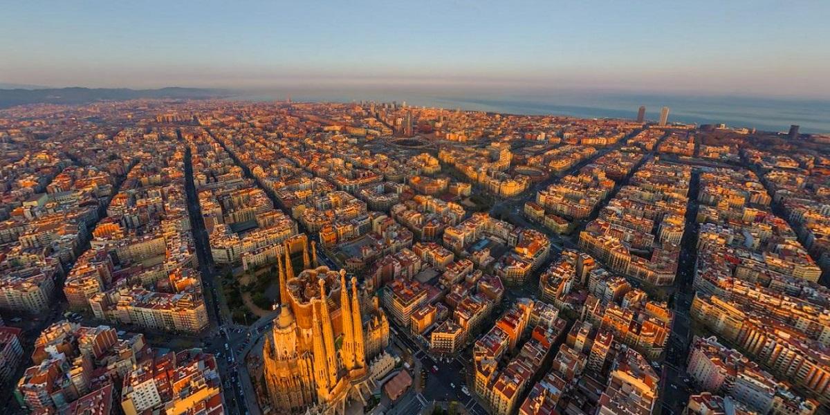 Обзорная экскурсия по Барселоне - Проспект Диагональ