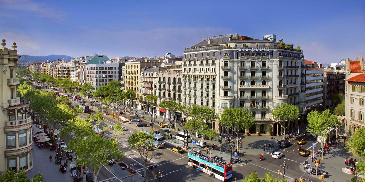 Обзорная экскурсия по Барселоне - Проспект Пасео де Грасия